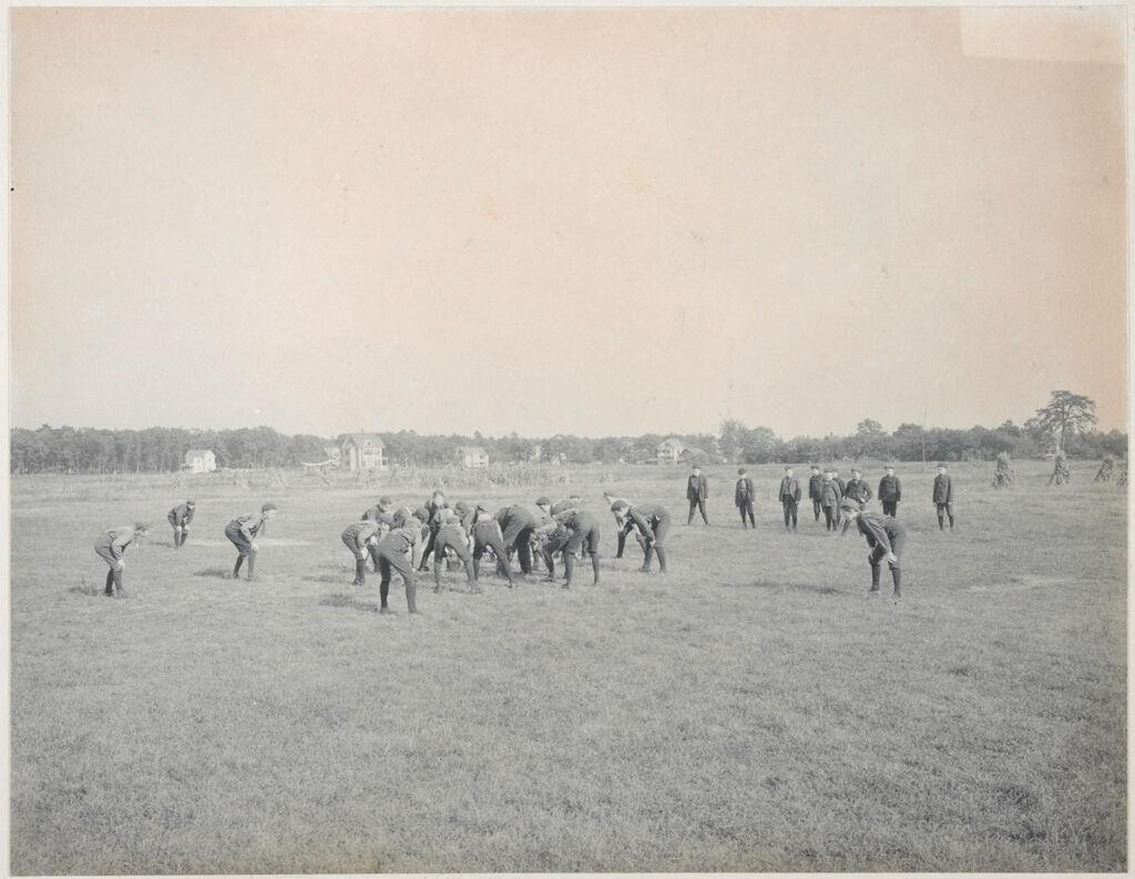 Crime, Children, Truant Schools: United States. Massachusetts. Springfield. Hampden County Truant School: Hampden County Truant School, Springfield.: A Game Of Foot Ball.