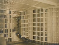 Crime, Prisons: United States. New Hampshire. Dover. Strafford County Jail: New Hampshire State Charitable And Correctional Institutions: Interior - Strafford County Jail.