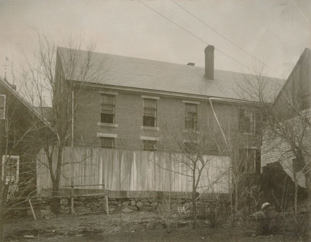 Crime, Prisons: United States. New Hampshire. Newport. Sullivan County Jail: New Hampshire State Charitable And Correctional Institutions: South Side Of Old Sullivan County Jail.