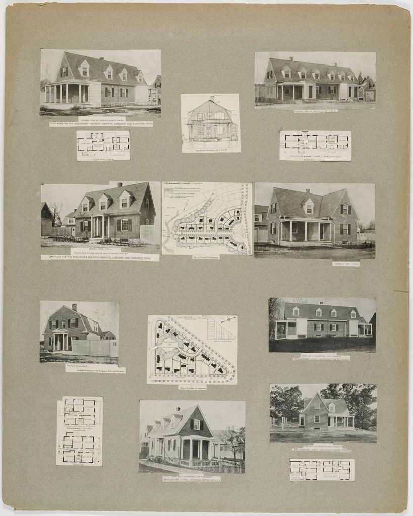 Housing, Improved: United States. Connecticut. Fairfield And Lordship. Bridgeport Housing Company