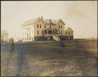 Races, Jews: United States. New Jersey. Woodbine. Baron de Hirsch Agricultural and Industrial School: Woodbine Settlement and School, Woodbine, N.J. Baron de Hirsch Fund.: 130. Boys' Dormitories.