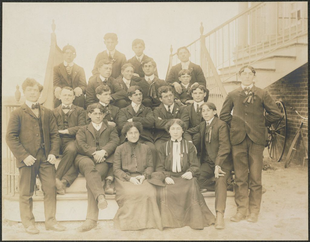 Races, Jews: United States. New Jersey. Woodbine. Baron De Hirsch Agricultural And Industrial School: Woodbine Settlement And School, Woodbine, N.j. Baron De Hirsch Fund.: 208. Class Of 1903.