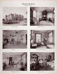 Defectives, Insane: United States. Massachusetts. Waverly. McLean Hospital: McLean Hospital. Proctor House.   Social Museum Collection