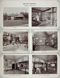 Defectives, Insane: United States. Massachusetts. Waverly. McLean Hospital. Women's Gymnasium.   Social Museum Collection