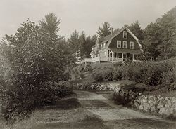 Defectives, Insane: United States. New Hampshire. Concord. State Hospital: New Hampshire State Charitable and Correctional Institutions.: New Hampshire State Hospital, Concord.: Richard Cottage at Lake Penacook..   Social Museum Collection