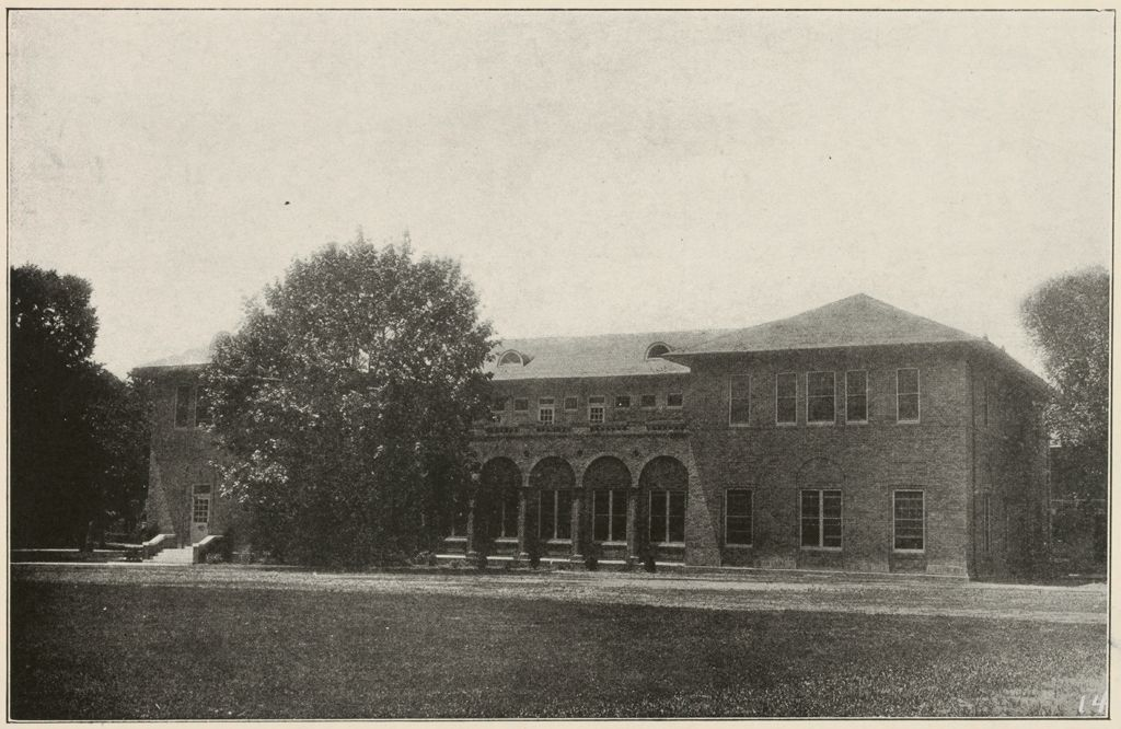 Races, Negroes: United States. Virginia. Hampton. Hampton Normal And Industrial School: Training In Scientific Agriculture: The Administration Building At Hampton. One Of The Many Buildings Erected By Trade Students