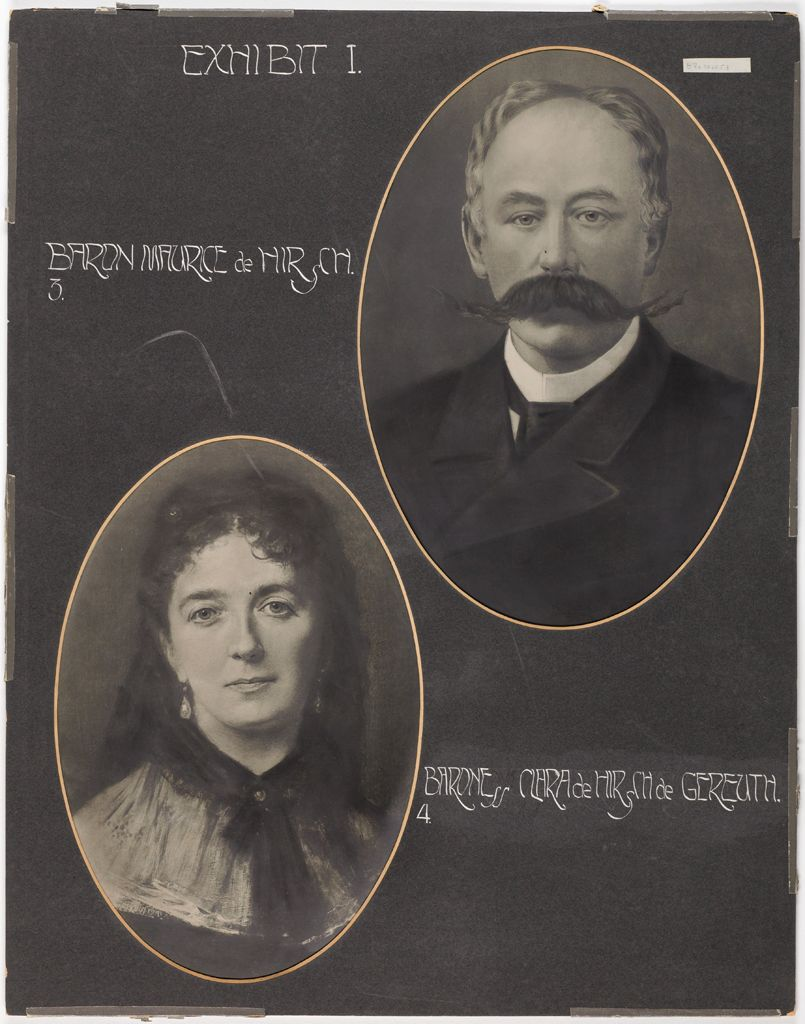 Races, Jews: United States. New Jersey. Woodbine. Baron De Hirsch Agricultural And Industrial School: Exhibit I.
