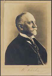 Races, Jews: United States. New Jersey. Woodbine. Baron de Hirsch Agricultural and Industrial School: 5. Trustees of Baron de Hirsch Fund.: A. Abraham.   Social Museum Collection