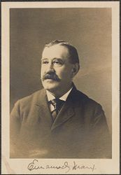 Races, Jews: United States. New Jersey. Woodbine. Baron de Hirsch Agricultural and Industrial School: 5. Trustees of Baron de Hirsch Fund.: Emmanuel Marx.   Social Museum Collection