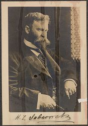 Races, Jews: United States. New Jersey. Woodbine. Baron de Hirsch Agricultural and Industrial School: 5. Trustees of Baron de Hirsch Fund.: H.L Sabsovich.   Social Museum Collection