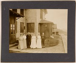 Defectives, Epileptics: United States. Massachusetts. Palmer. State Hospital for Epileptics: Farm Group #1 and #2..   Social Museum Collection