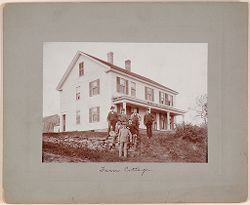 Defectives, Epileptics: United States. Massachusetts. Palmer. State Hospital for Epileptics: Farm Cottage..   Social Museum Collection