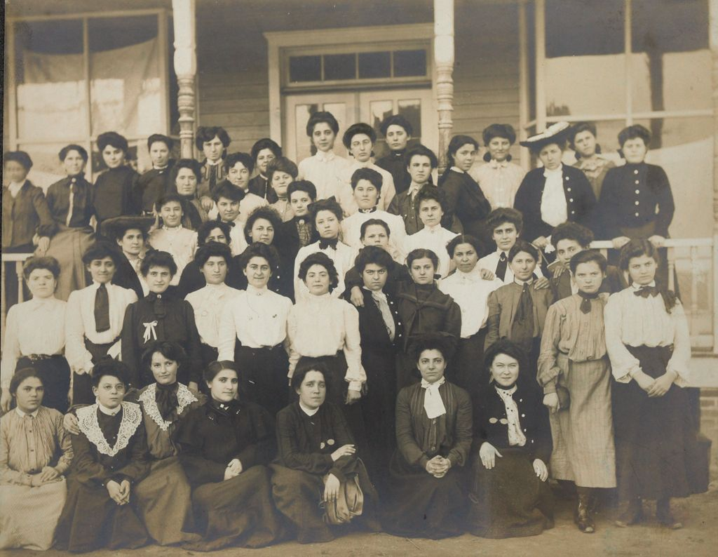 Races, Jews: United States. New Jersey. Woodbine. Baron De Hirsch Agricultural And Industrial School: Woodbine Settlement And School, Woodbine, N.j. Baron De Hirsch Fund.: 109. The Girls Club.