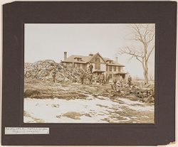 Defectives, Epileptics: United States. Massachusetts. Palmer. State Hospital for Epileptics: Industries at the Mass. Hospital for Epileptics. Preparing wood piles. 1..   Social Museum Collection