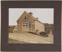 Defectives, Epileptics: United States. Massachusetts. Palmer. State Hospital for Epileptics: Cow barn 1906..   Social Museum Collection