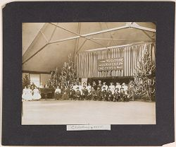 Defectives, Epileptics: United States. Massachusetts. Palmer. State Hospital for Epileptics: Christmas 1905..   Social Museum Collection
