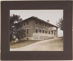 Defectives, Epileptics: United States. Massachusetts. Palmer. State Hospital for Epileptics: 1 Cottage, 1906..   Social Museum Collection