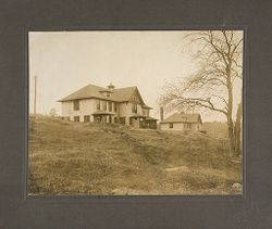 Defectives, Epileptics: United States. Massachusetts. Palmer. State Hospital for Epileptics: Farm Group #1 and 2 1906..   Social Museum Collection