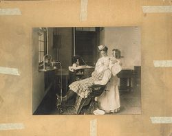 Defectives, Epileptics: United States. Massachusetts. Palmer. State Hospital for Epileptics: Dentistry, 1908..   Social Museum Collection
