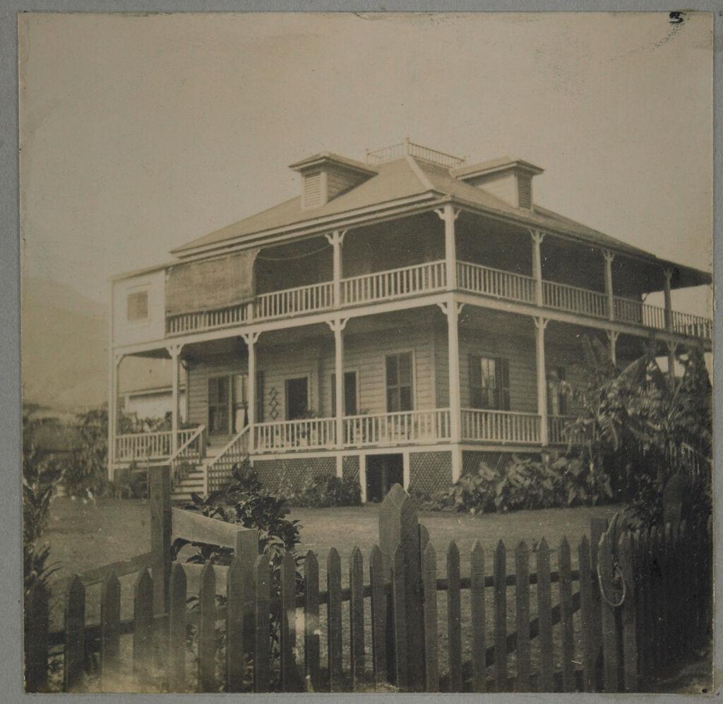 Social Settlements: Hawaii. Wailuku. Alexander House: Alexander House, Wailuku, Hawaii: