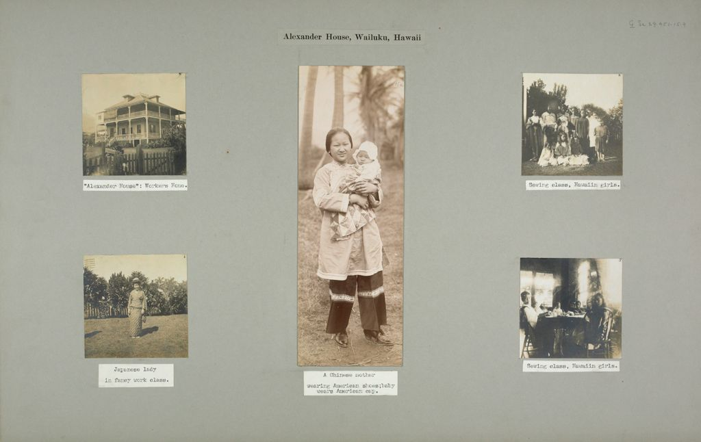 Social Settlements: Hawaii. Wailuku. Alexander House: Alexander House, Wailuku, Hawaii