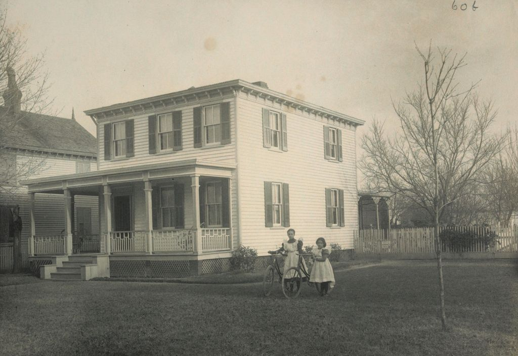Races, Negroes: United States. Virginia. Hampton. Hampton Normal And Industrial School:  Environments Impeding The Assimilation Of The Negro. Hampton Normal And Agricultural Institute, Hampton, Va.: A Graduate's House Near Hampton.