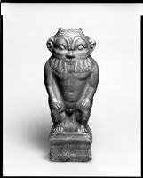 Standing Statuette Of The God Bes