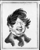 Caricature Of Eugène Isabey