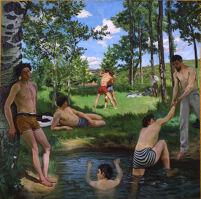 Summer Scene (Bathers)