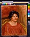 Gabrielle In A Red Dress