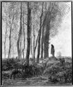 Shepherd And His Flock At The Edge Of The Forest, Evening; Verso: Nude With Figures; Mother And Children