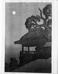 Moonlight At Ishiyama-Dera, From The Series Eight Views Of Lake Biwa (Ōmi Hakkei)