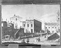 The Piazza Del Campidoglio, Santa Maria D'aracoeli, And The Cordonata, Rome