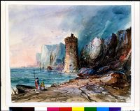 View Of Sicily, South Of Palermo