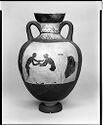 Panathenaic Amphora: Athena; Wrestlers And Referee