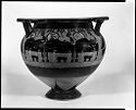Column Krater (Mixing Bowl For Wine And Water): Symposium; Cavalcade