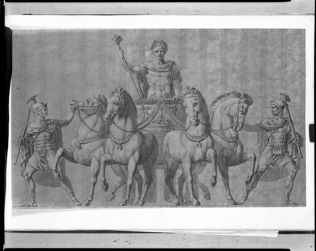 A Quadriga With Napoleon In The Chariot