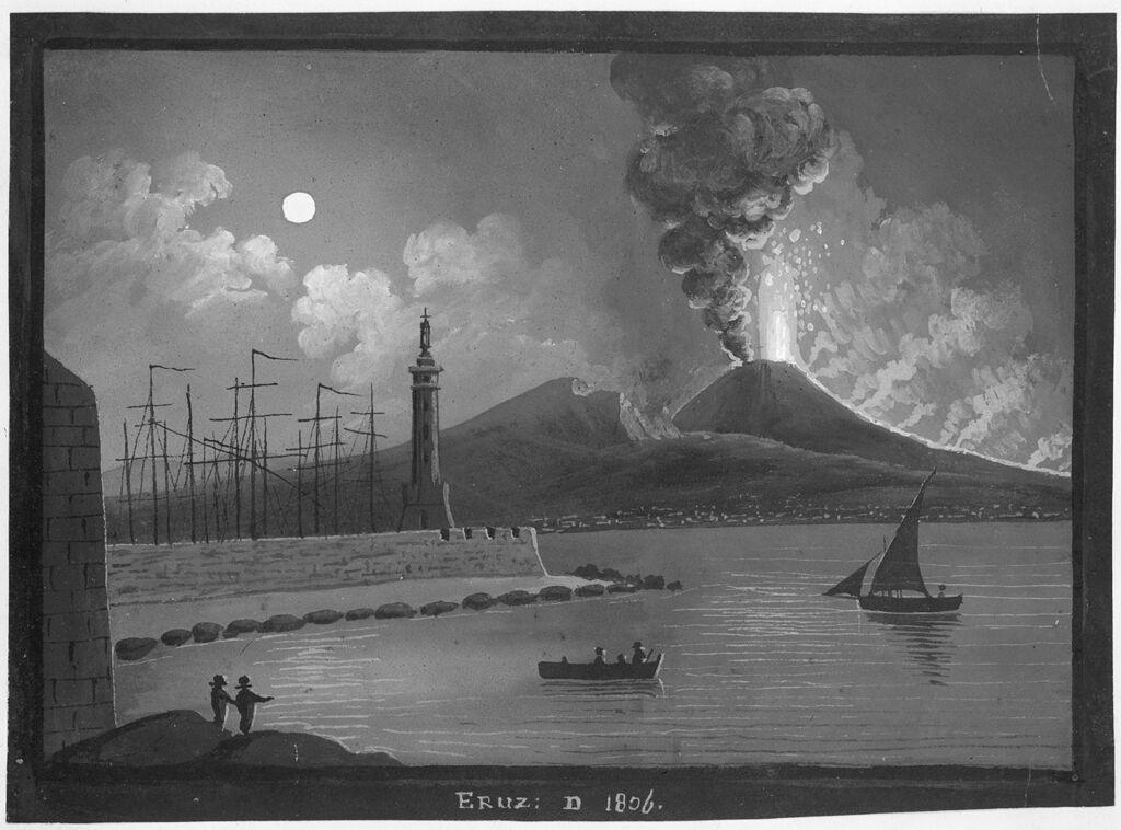 Eruption Of Vesuvius In 1806