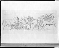 Amazons On Horseback