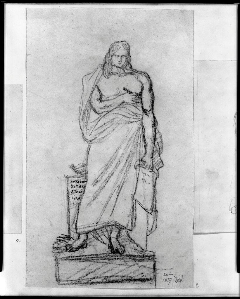 Statue Of Jean Racine