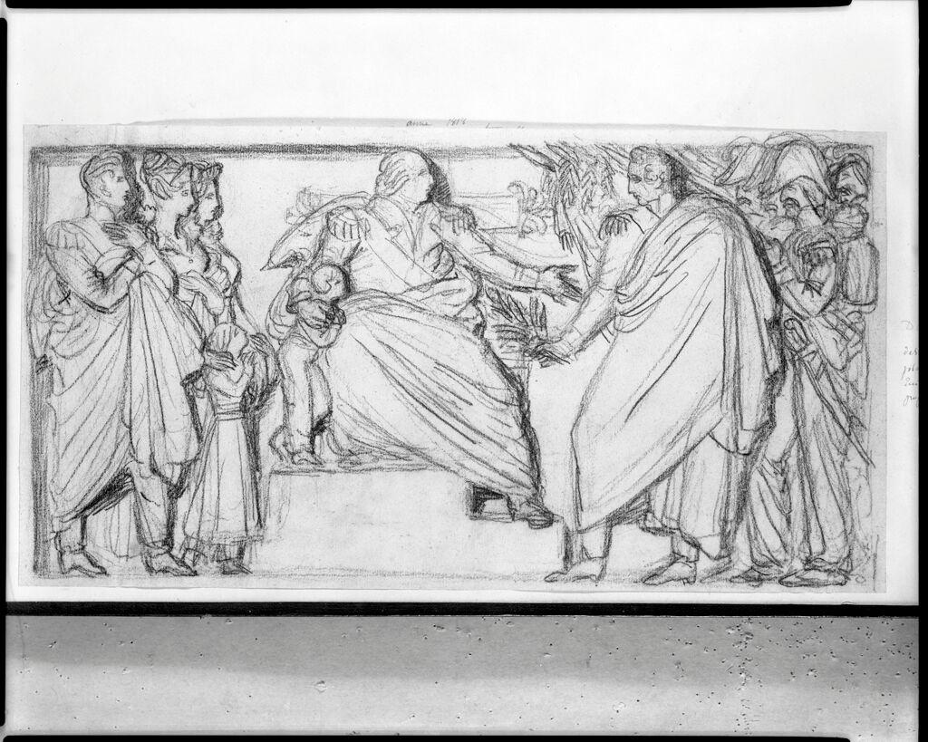 A Project For A Bas-Relief For The Arc De Triomphe Du Carrousel