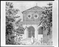 Facade Of Santa Balbina On The Aventine
