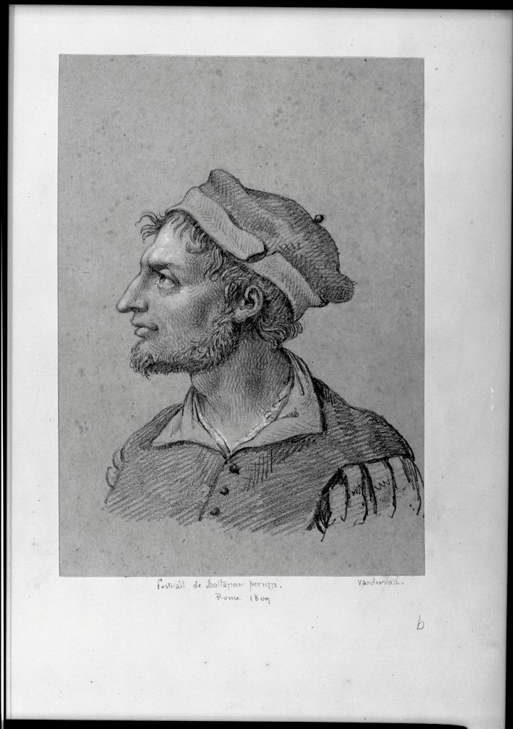 Portrait Of Baldassare Peruzzi