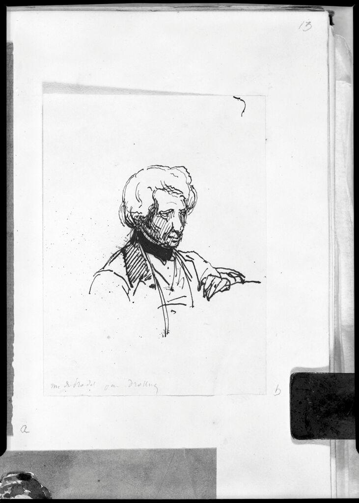 Portrait Of Comte De Pradel