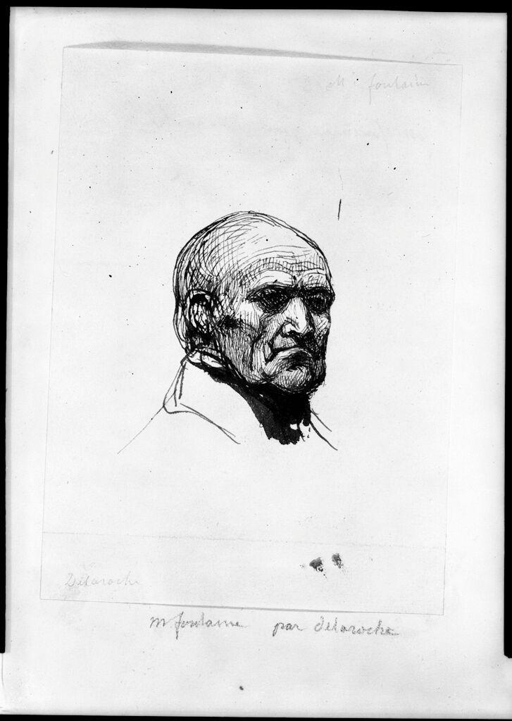 Portrait Of Pierre-Francois-Léonard Fontaine