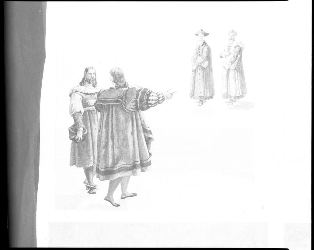 Four Figures In Renaissance Dress
