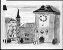 Clock Tower At Bern