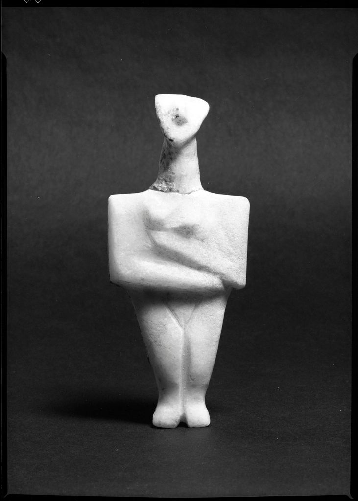 Cycladic Figurine Of A Woman