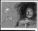 Self Portrait; Verso: Two Self Portraits