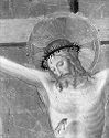 Christ On The Cross, The Virgin, Saint John The Evangelist, And Cardinal Torquemada